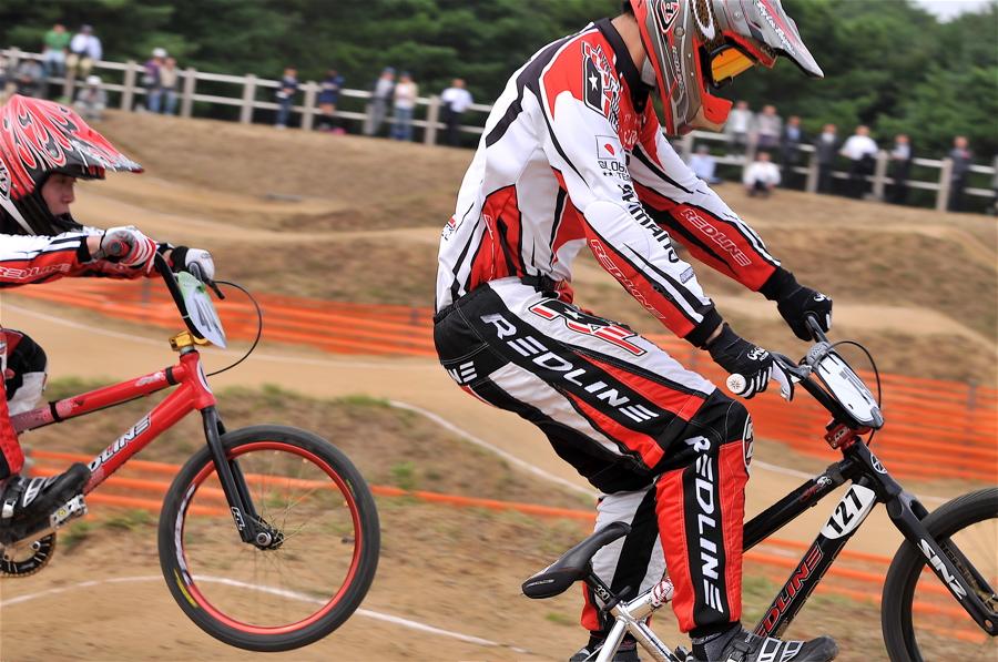 第55回全日本プロ選手権自転車競技大会BMX競技INひたち:全クラスの予選その2_b0065730_775677.jpg