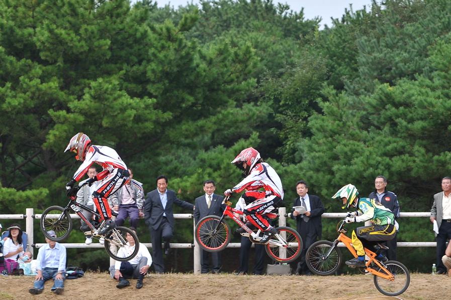 第55回全日本プロ選手権自転車競技大会BMX競技INひたち:全クラスの予選その2_b0065730_782454.jpg