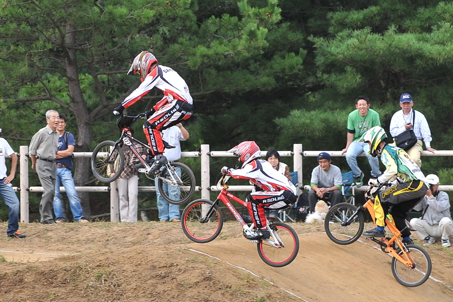 第55回全日本プロ選手権自転車競技大会BMX競技INひたち:全クラスの予選その2_b0065730_78519.jpg