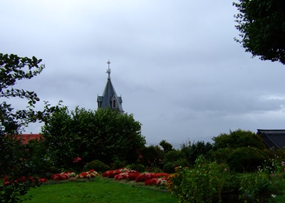 カトリック元町教会の屋根
