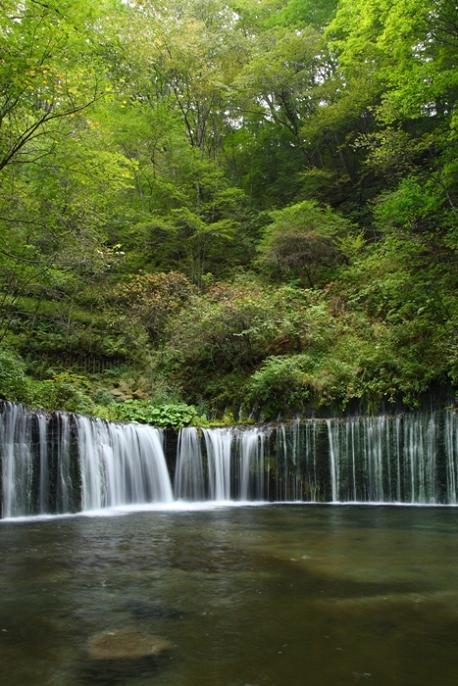 軽井沢への小旅行 <9> 白糸の滝 2008年9月28日_e0143883_1718170.jpg