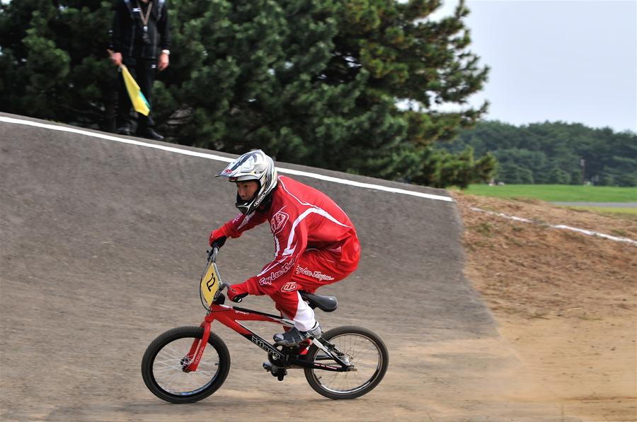 第55回全日本プロ選手権自転車競技大会BMX競技INひたち:全プロクラス準々決勝〜準決勝_b0065730_711925.jpg