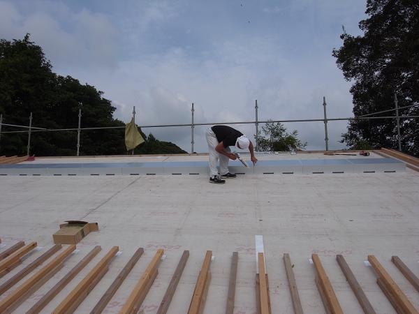 宮ヶ崎の家 OM工事開始 2008/10/7_a0039934_19121.jpg