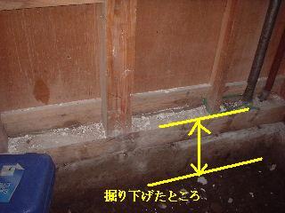 リフォーム工事・・・3日目  女仕事人の気合!!_f0031037_2026748.jpg