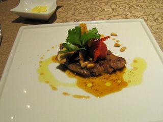 メイン料理(豚肩ロースのプチサレを~)
