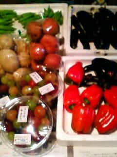 元気な野菜たちだよ。_d0026905_6381874.jpg