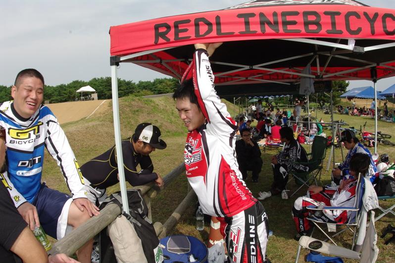 第55回全日本プロ選手権自転車競技大会BMX競技INひたち:最終回コース外の風景_b0065730_23172019.jpg