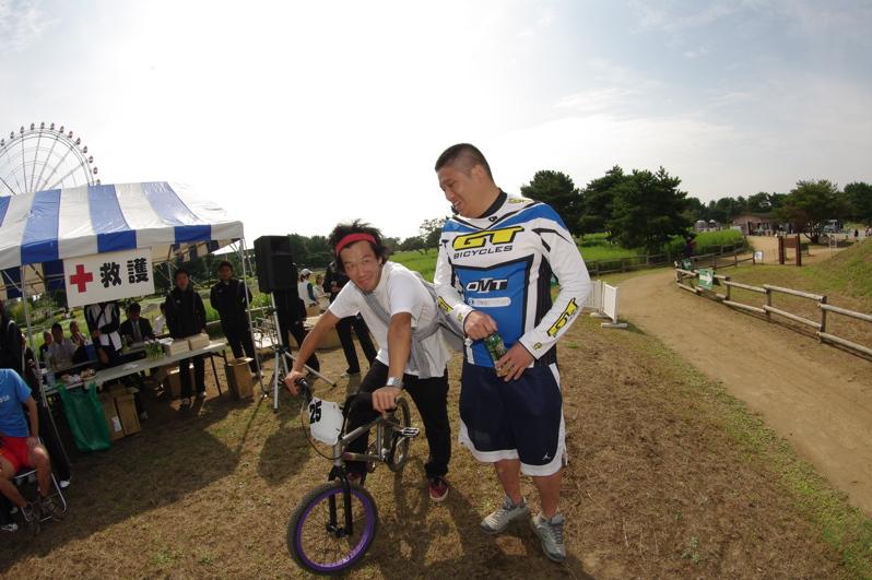 第55回全日本プロ選手権自転車競技大会BMX競技INひたち:最終回コース外の風景_b0065730_2320362.jpg