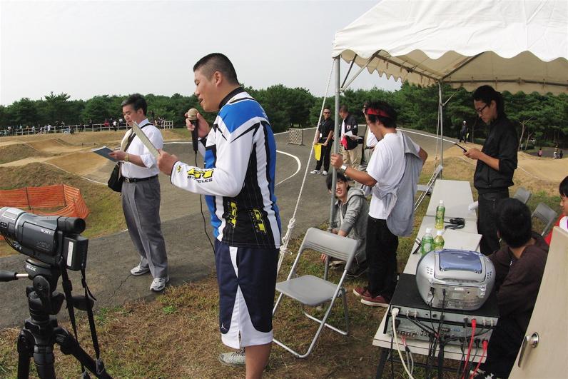第55回全日本プロ選手権自転車競技大会BMX競技INひたち:最終回コース外の風景_b0065730_2321470.jpg