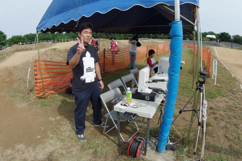 第55回全日本プロ選手権自転車競技大会BMX競技INひたち:最終回コース外の風景_b0065730_23221655.jpg