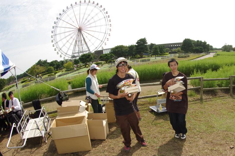 第55回全日本プロ選手権自転車競技大会BMX競技INひたち:最終回コース外の風景_b0065730_23264155.jpg