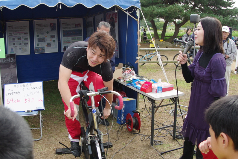 第55回全日本プロ選手権自転車競技大会BMX競技INひたち:最終回コース外の風景_b0065730_23302370.jpg