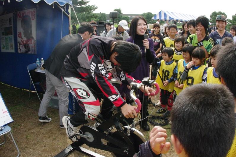 第55回全日本プロ選手権自転車競技大会BMX競技INひたち:最終回コース外の風景_b0065730_23314430.jpg