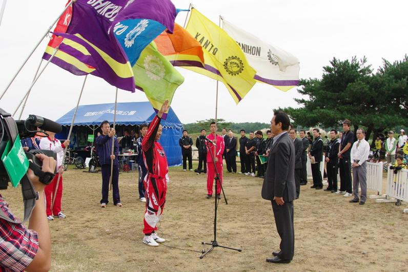 第55回全日本プロ選手権自転車競技大会BMX競技INひたち:最終回コース外の風景_b0065730_2334713.jpg