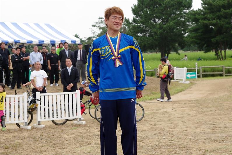 第55回全日本プロ選手権自転車競技大会BMX競技INひたち:最終回コース外の風景_b0065730_23465157.jpg