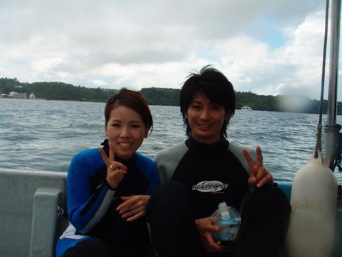 10月9日何とか今日も真栄田岬で・・・・_c0070933_21281484.jpg