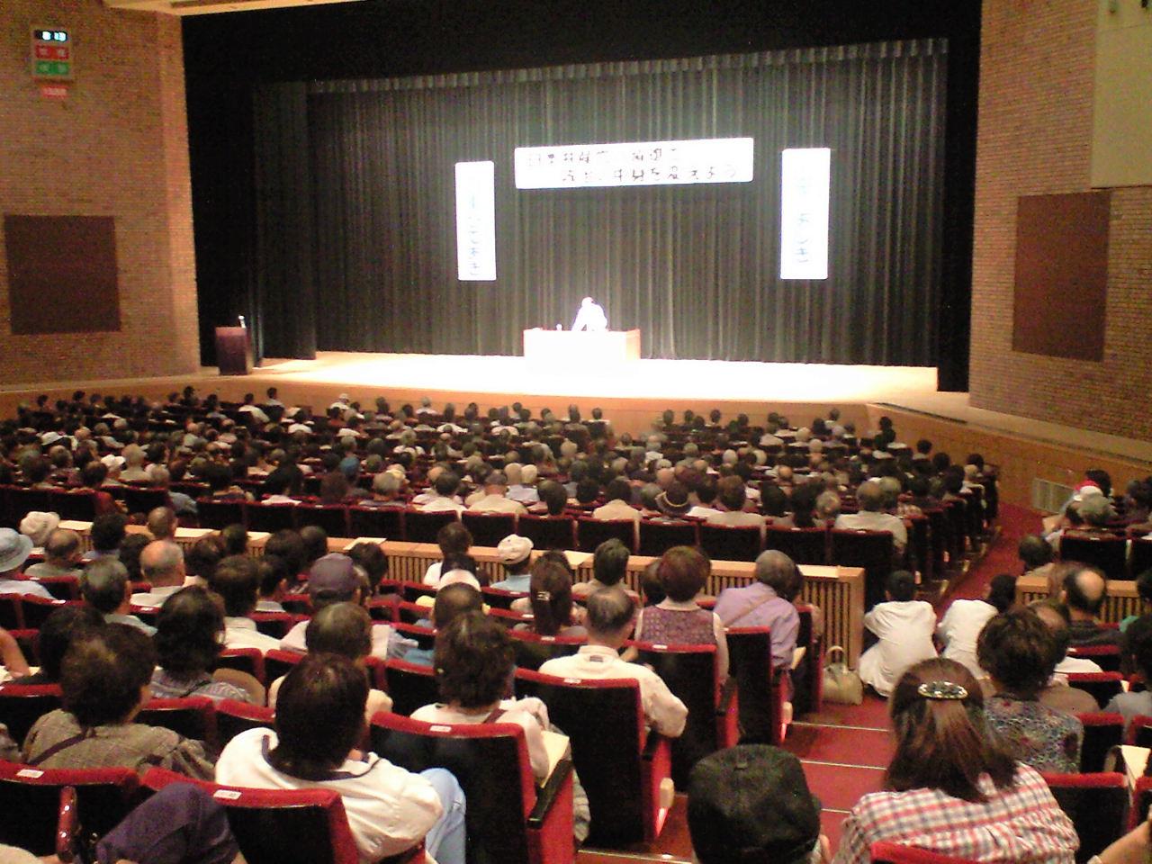 演説会満員で成功_a0015353_2382972.jpg
