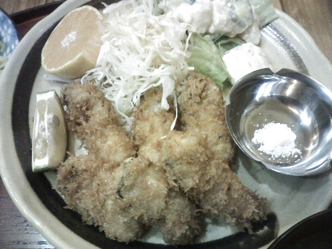 昨日は今年最初の広島の牡蠣(カキ)を食べました♪_b0137453_1558414.jpg