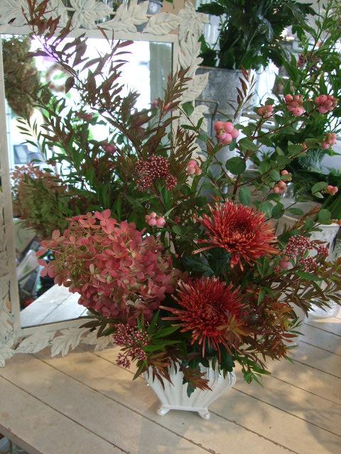 オークリーフ花の教室(阿部さんの作品)_f0049672_17505114.jpg