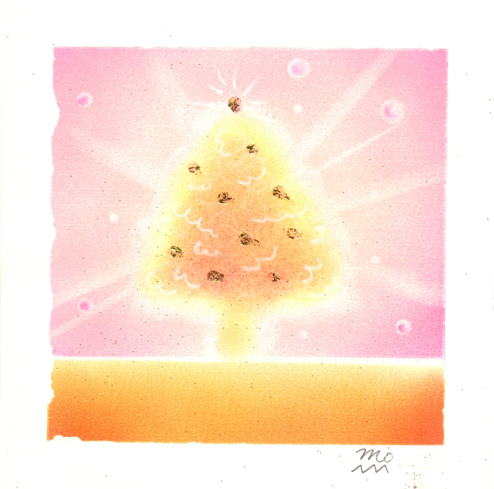 パステル和(NAGOMI)アート~6.クリスマスツリー_f0183846_9201181.jpg