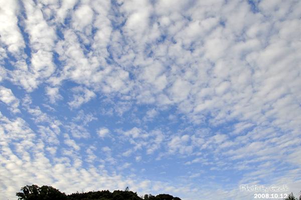 10月12日の福岡 うろこ雲_d0147591_2230626.jpg