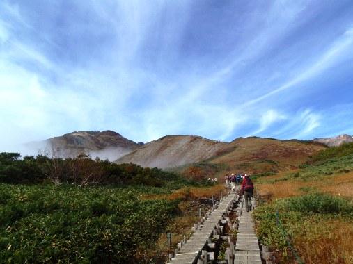 秋晴れの唐松岳_c0177814_1039927.jpg