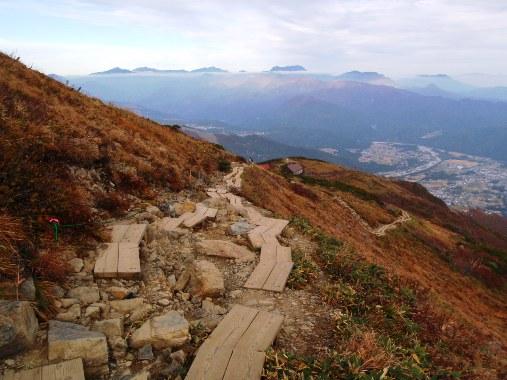 秋晴れの唐松岳_c0177814_11294445.jpg