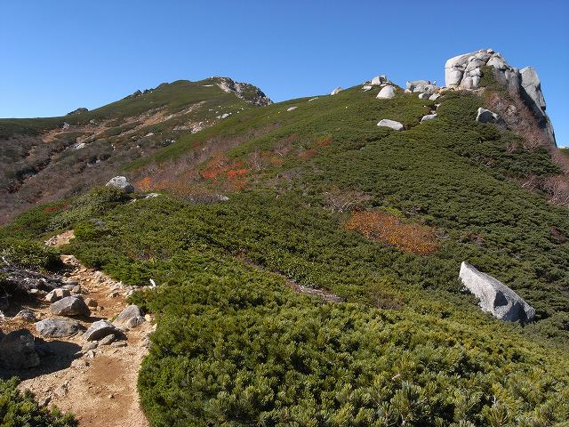 10月13日、空木岳_f0138096_17263695.jpg