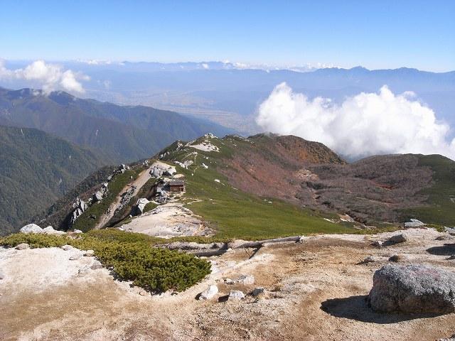 10月13日、空木岳_f0138096_1733628.jpg