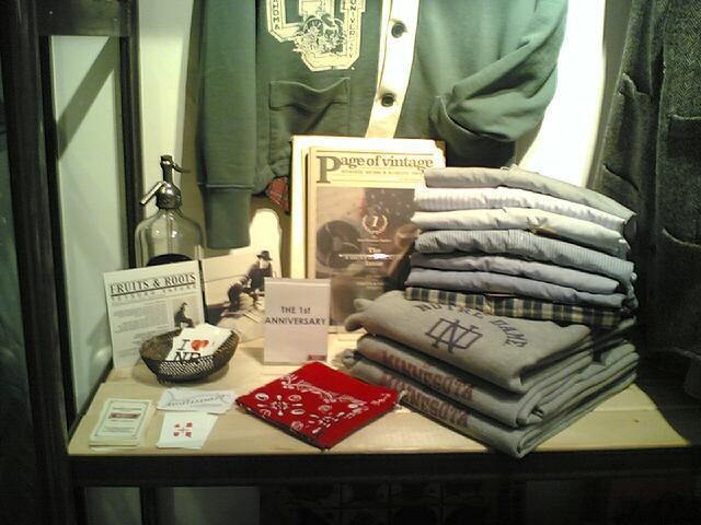 p.o.v at Tailgate Clothing _c0077105_254412.jpg