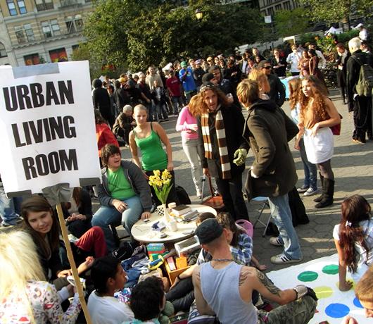 都市生活の生み出すもの Urban Living Room_b0007805_100581.jpg