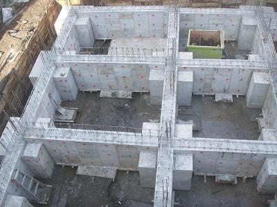 基礎コンクリート完了 : (仮称)梅島1丁目マンション 建設日記