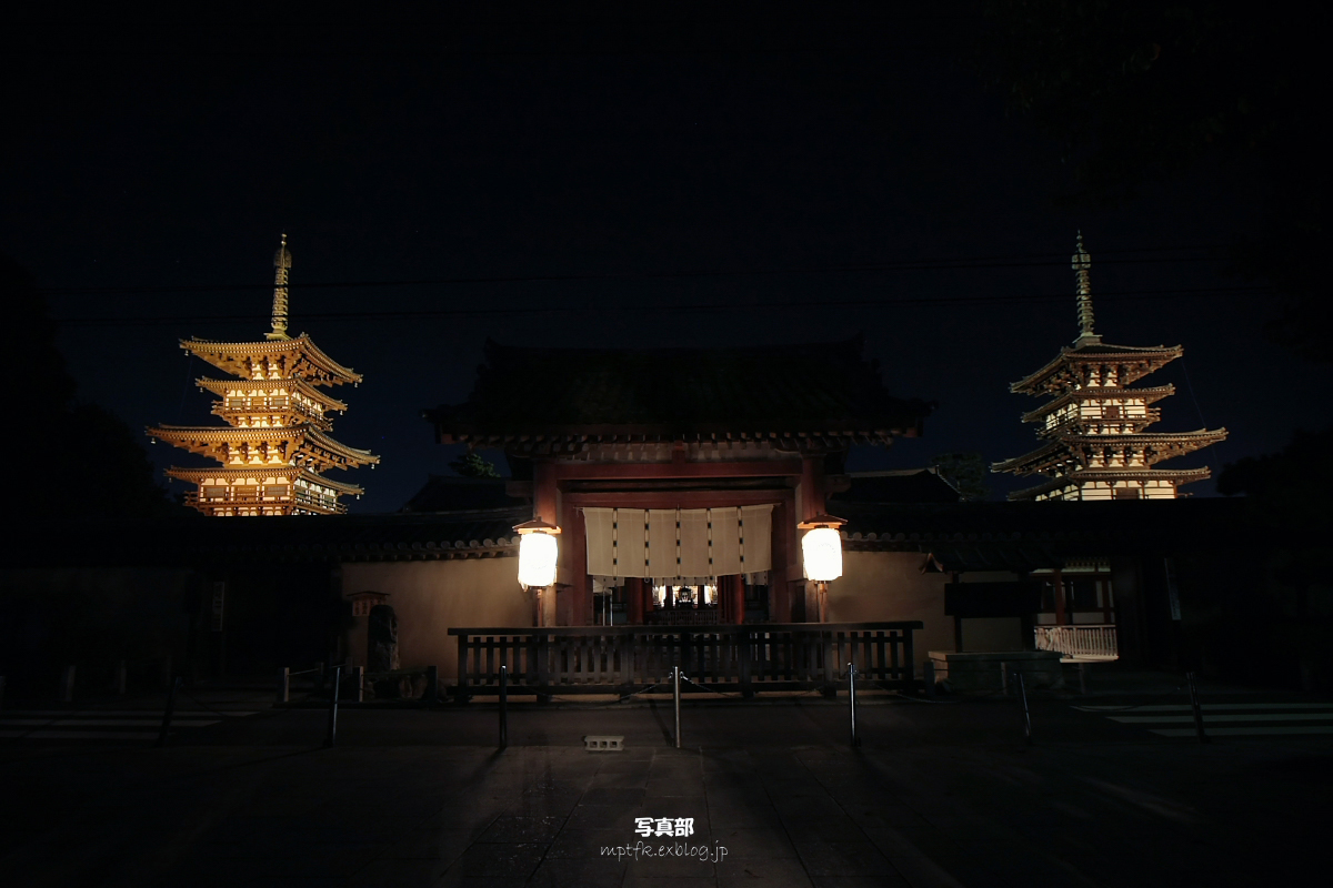 奈良 薬師寺万燈会  1_f0021869_23355486.jpg