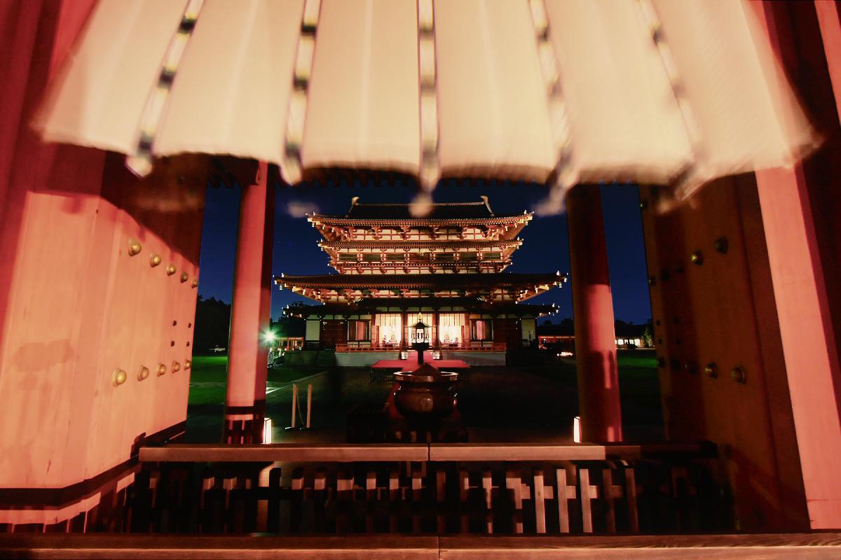 奈良 薬師寺万燈会  1_f0021869_23374777.jpg