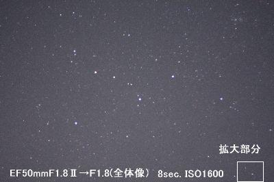 カメラレンズ(4) キャノンEF50mmF1.8Ⅱ_a0095470_22273696.jpg