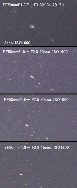 カメラレンズ(4) キャノンEF50mmF1.8Ⅱ_a0095470_2228667.jpg