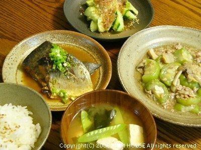 それは、地味な 地味~な☆ 晩ご飯でした♪_c0139375_1785986.jpg