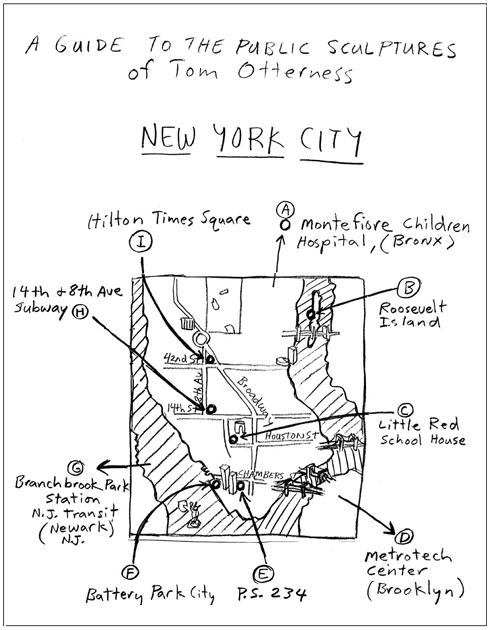 マンハッタンでは有名な小人くん達のパブリック・アート _b0007805_8533546.jpg