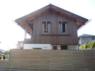 hpで見学会(街の中で自然を感じる家。)・外観_d0087595_10254028.jpg