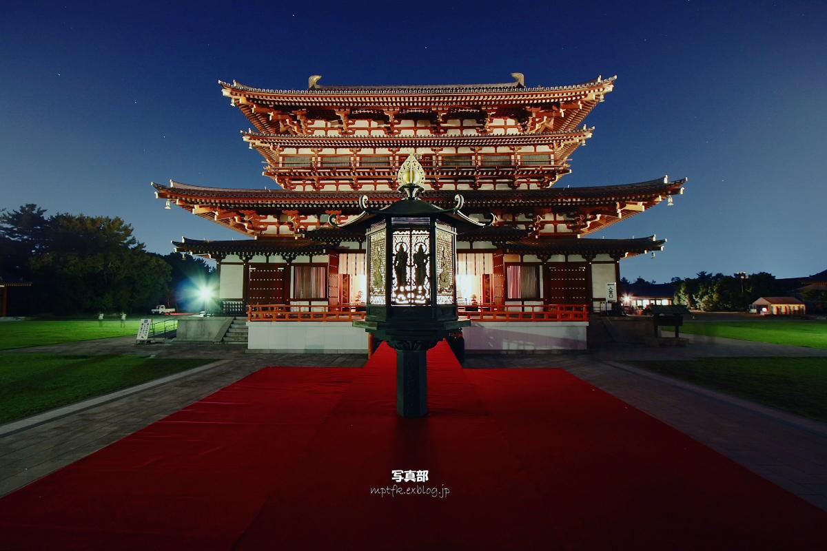 奈良 薬師寺万燈会  2_f0021869_121253100.jpg
