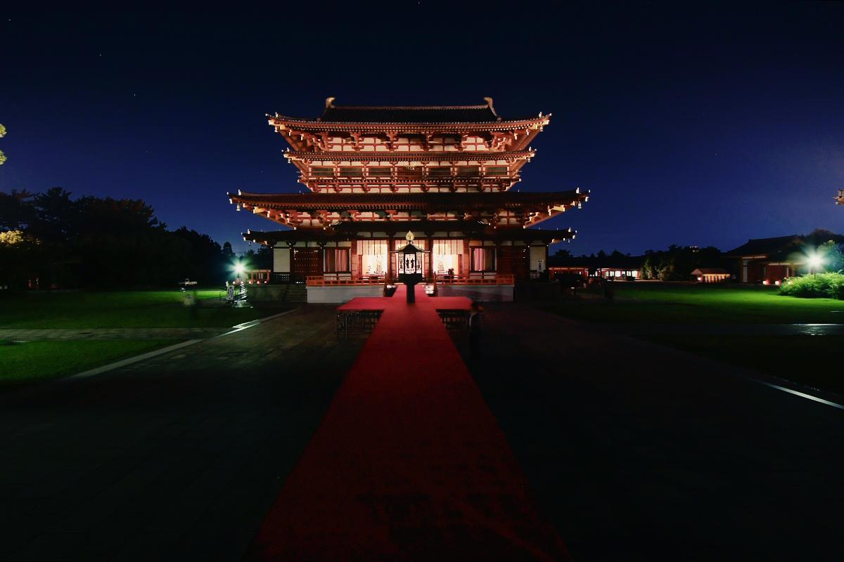 奈良 薬師寺万燈会  2_f0021869_12143760.jpg