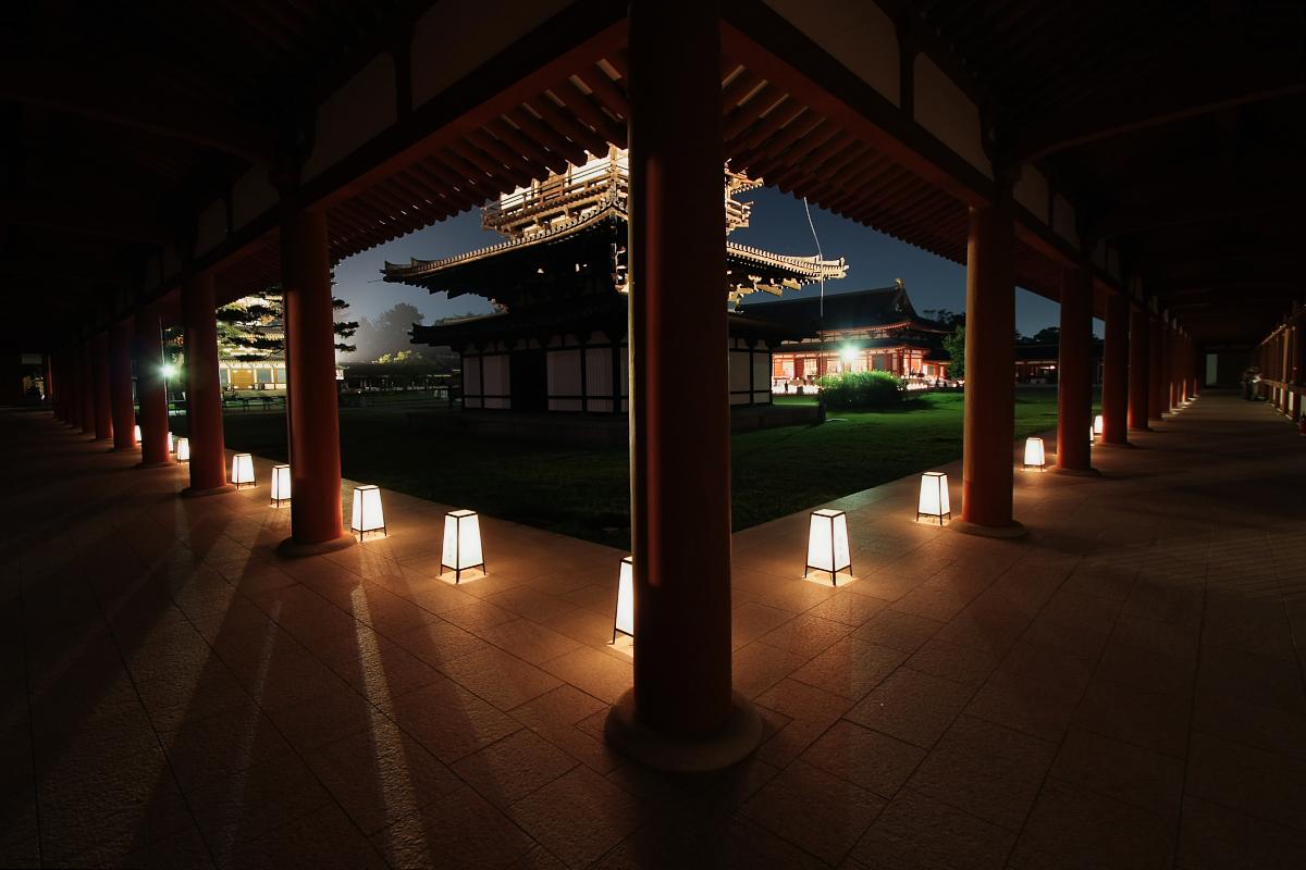 奈良 薬師寺万燈会  2_f0021869_12145328.jpg