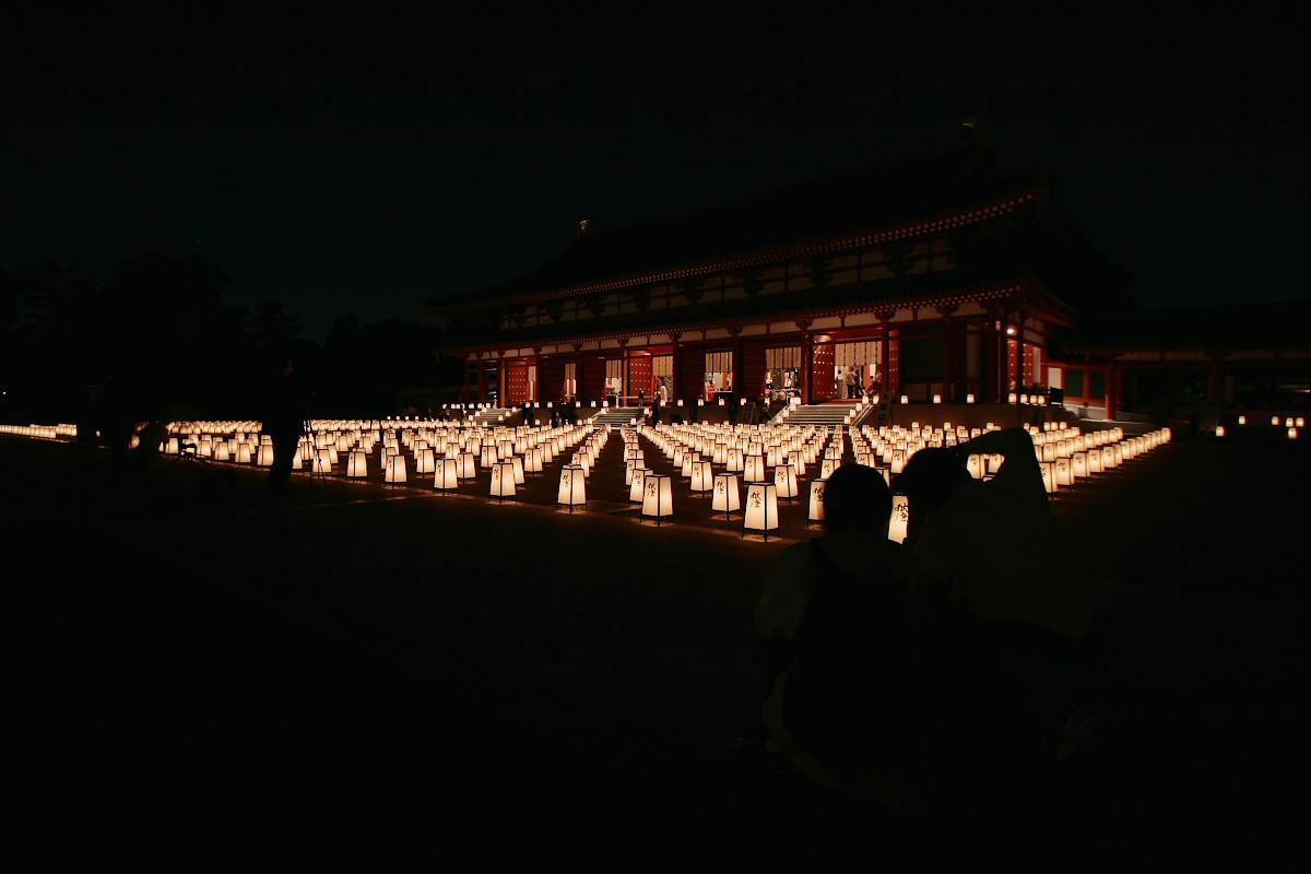 奈良 薬師寺万燈会  2_f0021869_12151799.jpg