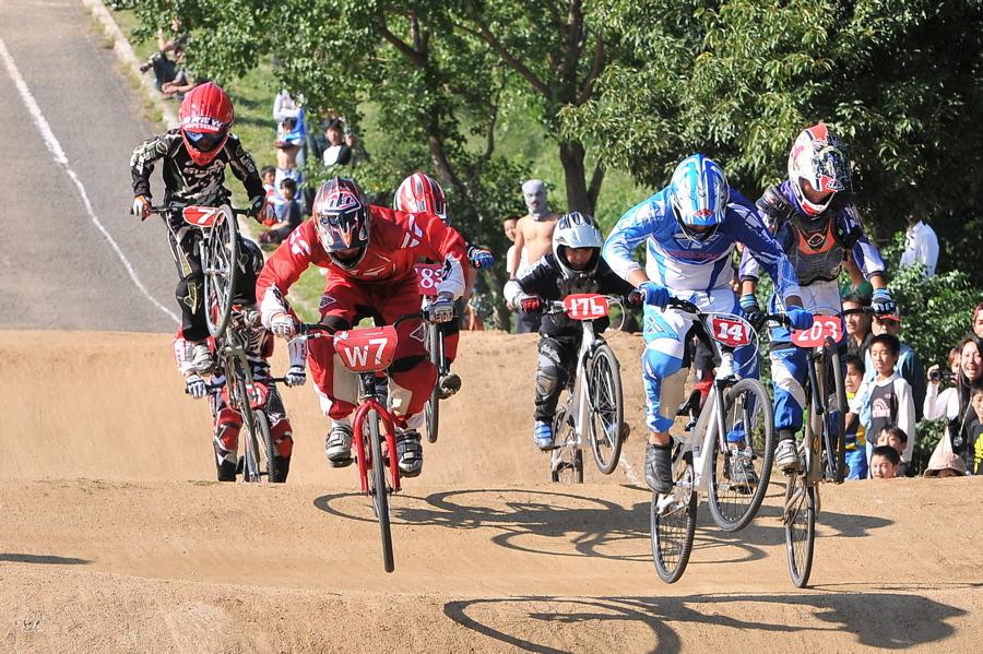 2008JBMXF西日本BMX選手権大会IN大阪VOL 6:年齢別クラス決勝その1_b0065730_19452723.jpg