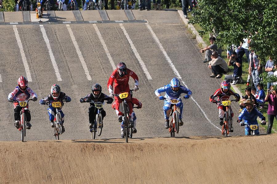 2008JBMXF西日本BMX選手権大会IN大阪VOL 9:年齢別クラス決勝その4_b0065730_2331520.jpg