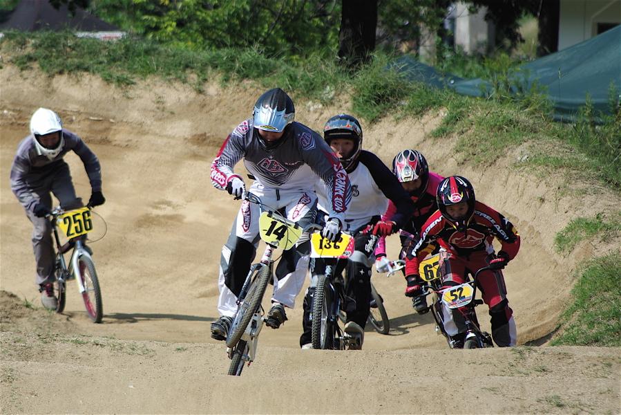 2008JBMXF西日本BMX選手権大会IN大阪VOL 5:年齢別クラス予選その2_b0065730_6484012.jpg