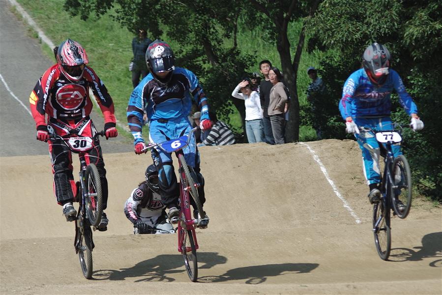 2008JBMXF西日本BMX選手権大会IN大阪VOL 5:年齢別クラス予選その2_b0065730_6505375.jpg