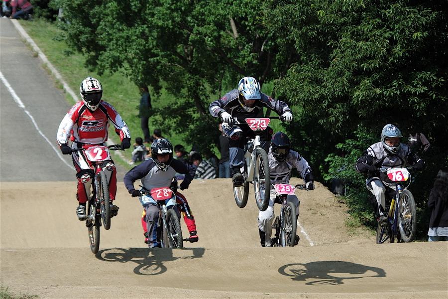 2008JBMXF西日本BMX選手権大会IN大阪VOL 5:年齢別クラス予選その2_b0065730_6523642.jpg