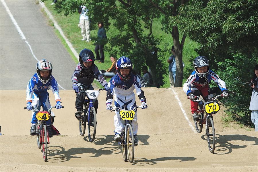2008JBMXF西日本BMX選手権大会IN大阪VOL 5:年齢別クラス予選その2_b0065730_6535164.jpg