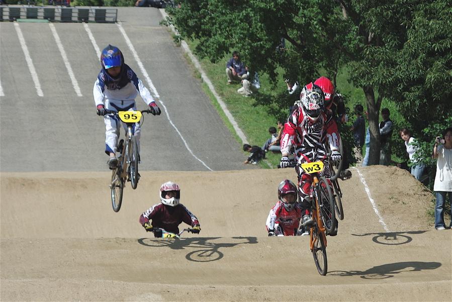 2008JBMXF西日本BMX選手権大会IN大阪VOL 5:年齢別クラス予選その2_b0065730_6545241.jpg